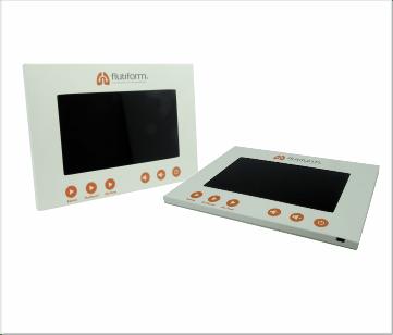 Flutiform   A5 Inbouw module met 7 inch beeldscherm