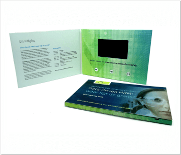 AcademicTransfer   A5 Video Brochure met LCD beeldscherm