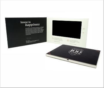 Amels   A5 Video Brochure met LCD beeldscherm
