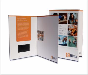 Bizz   A4 VideoBox met 4.3 inch beeldscherm