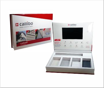 Callibo   A4 VideoBox met 7 inch beeldscherm