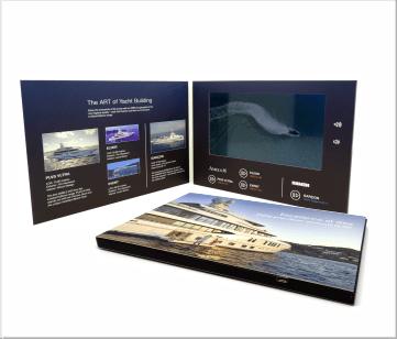 Damen   A5 Video Brochure met beeldscherm
