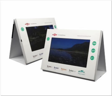Dow   A4 Video display met 7 inch beeldscherm