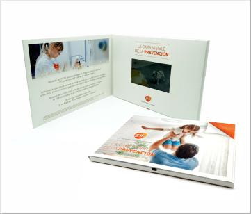 GSK   A5 Video Brochure met 4.3 inch beeldscherm