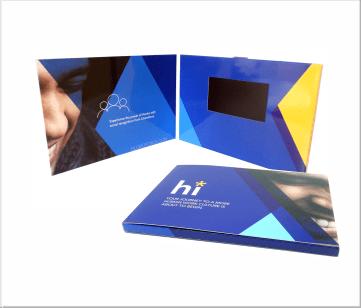 GlobolForce   A5 Video Brochure met 4.3 inch beeldscherm