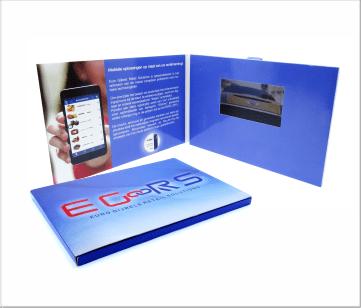 E-Goors   A5 Video Brochure met LCD beeldscherm