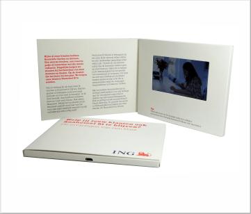 ING   A6 VideoBox met 4.3 inch beeldscherm