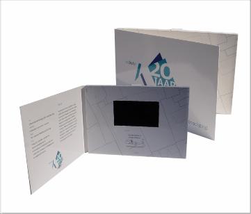 Kadaster   A5 Video Brochure met 4.3 inch beeldscherm