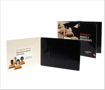 Leaseplan   A6 Video Brochure met 4.3 inch beeldscherm