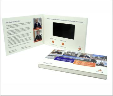 Rabobank   A6 Video Brochure met LCD beeldscherm