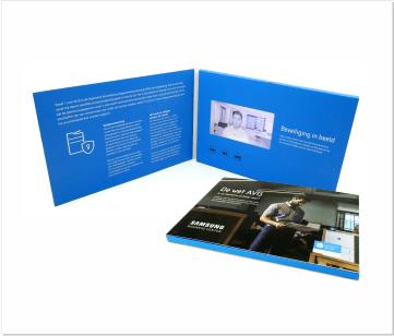 Samsung   A5 Video Brochure met LCD beeldscherm