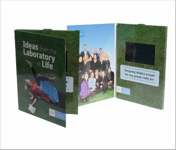 Teva   A5 Video Brochure met 4.3 inch beeldscherm
