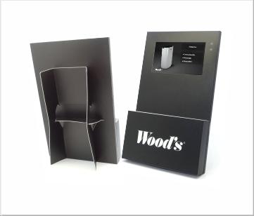 Woods   A3 Video display met 7 inch beeldscherm