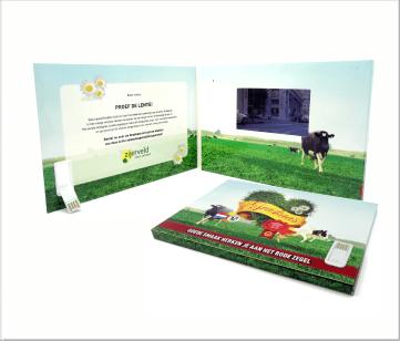 Zijerveld   A5 Video Brochure met 4.3 inch beeldscherm