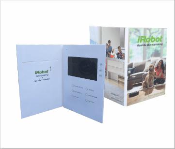 IRobot   A4 Video Brochure met 7 inch beeldscherm